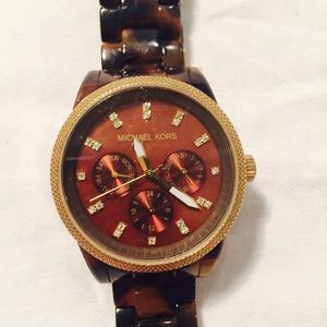 Accessories - Michael Kors Tortoise Watch